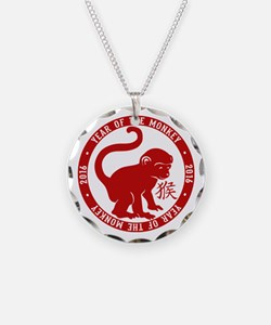 2016 Year Of The Monkey Necklace