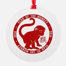 2016 Year Of The Monkey Ornament