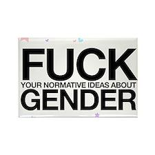 Funny Feminism Rectangle Magnet (10 pack)