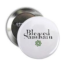 Blessed Samhain Button