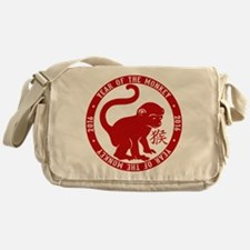 2016 Year Of The Monkey Messenger Bag