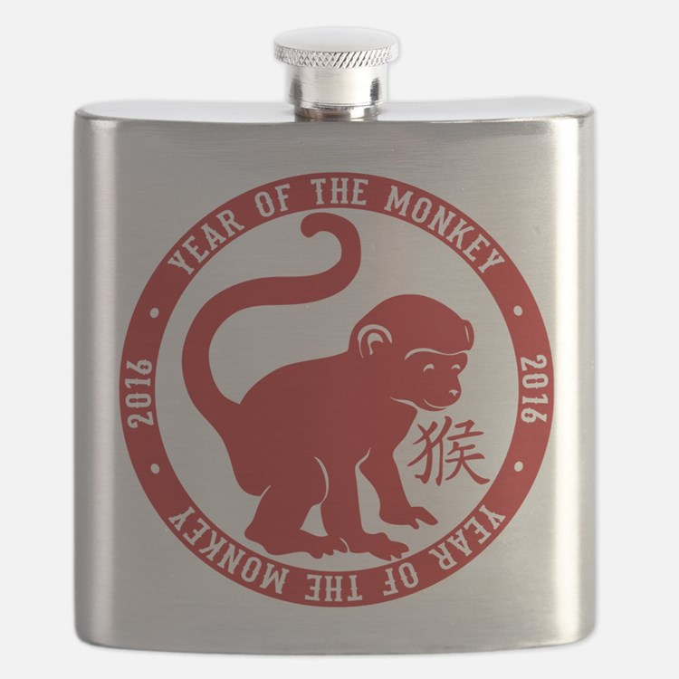 2016 Year Of The Monkey Flask