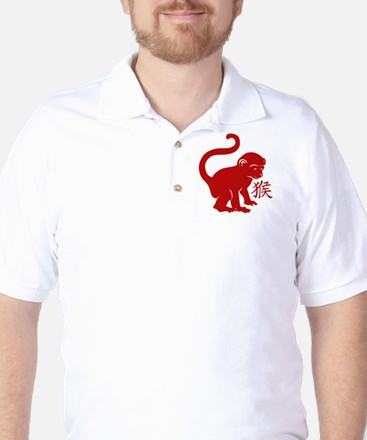 Cute Year Of The Monkey Golf Shirt