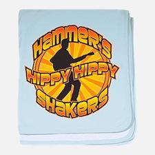 Hammer's Hippy Hippy Shakers Baby Blanket