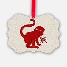 Cute Year Of The Monkey Ornament