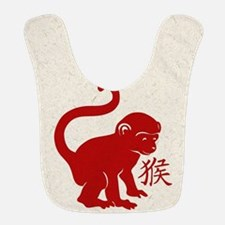 Cute Year Of The Monkey Bib