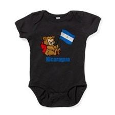 Cute Bear first birthday Baby Bodysuit