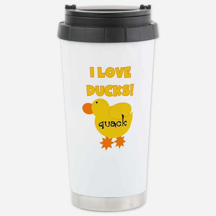 Cute Rubber duckie Travel Mug