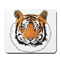 Tiger Face Mousepad