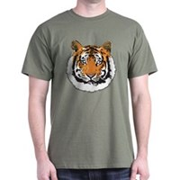 Tiger Face Dark T-Shirt