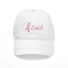 Enid vintage pink ribbon Baseball Cap