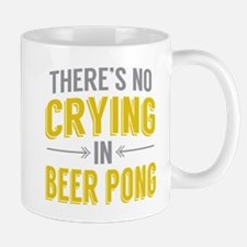 No Crying In Beer Pong Mugs