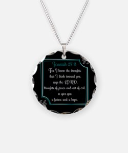 Bible Verse Quote Jeremiah 2 Necklace