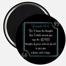 Bible Verse Quote Jeremiah 29:11 Magnet