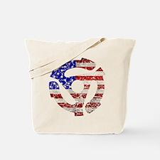 USA 45RPM Tote Bag