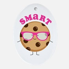 Smart Cookie Oval Ornament