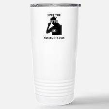 Cute Social studies teacher Travel Mug