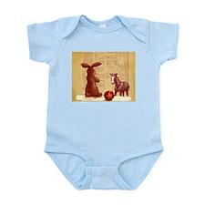Cute Velveteen rabbit horse children nursery Infant Bodysuit