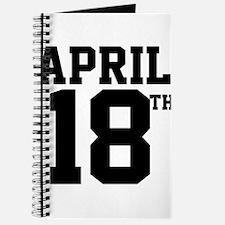APRIL 18TH Journal