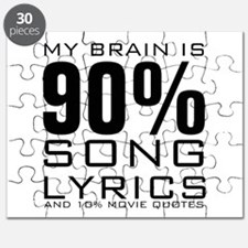 MY BRAIN IS 90% SONG LYRICS AND 10% MOVIE QUOTES P