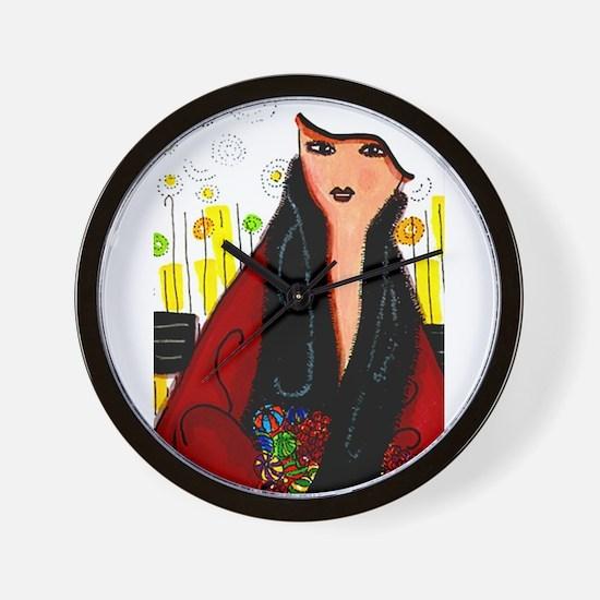 Wanna Be A Perfect Lady? Diva Wall Clock