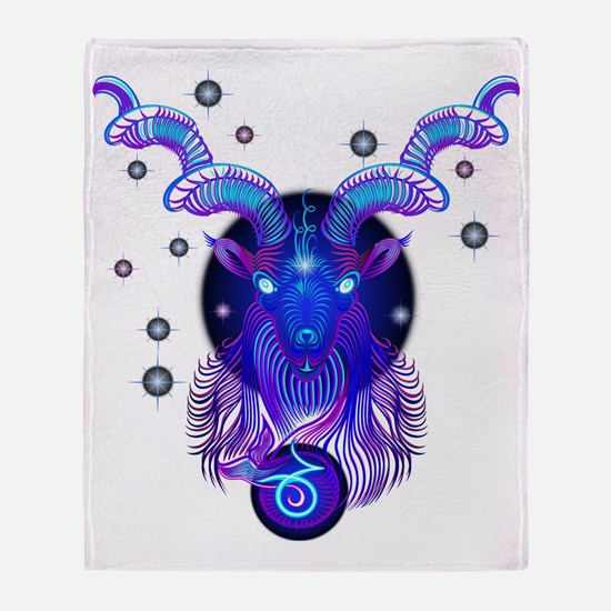 Unique Capricorn Throw Blanket