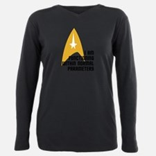 Unique Startrektv Plus Size Long Sleeve Tee