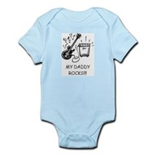 Cute Dad daddy father father%27s day Infant Bodysuit