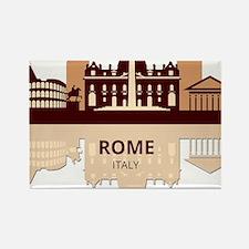 Cute International cities Rectangle Magnet