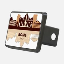 Cute International cities Hitch Cover