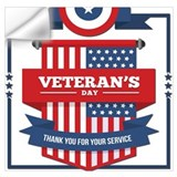 Veterans day Wall Decals
