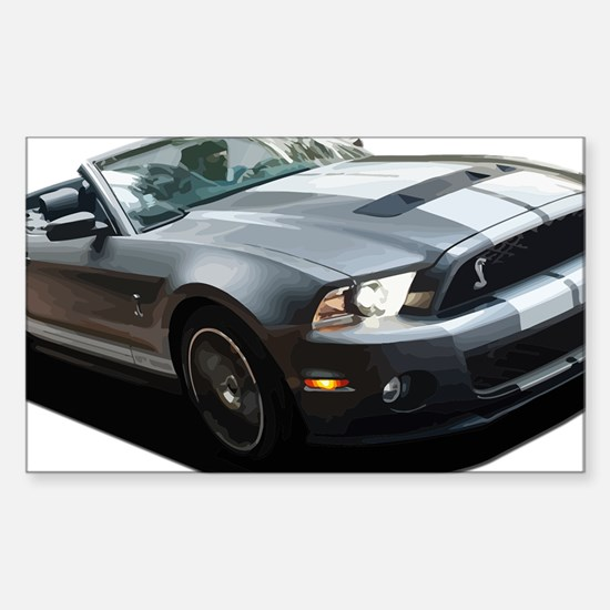 Unique Shelby Sticker (Rectangle)