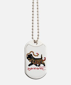 Jingle Cairn Terrier Dog Tags