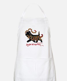 Jingle Cairn Terrier Apron