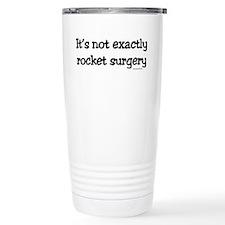 Unique Rocket science Travel Mug