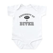 Property of a Diver Infant Bodysuit