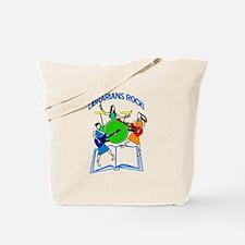 Librarians Rock! Tote Bag