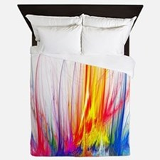 Unique Paint splatter Queen Duvet