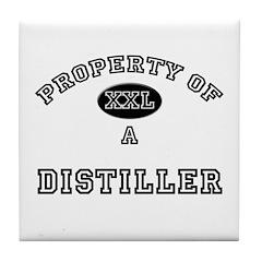 Property of a Distiller Tile Coaster