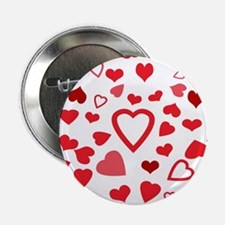 "Hearts a'Plenty 2.25"" Button (10 pack)"