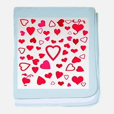 Hearts a'Plenty baby blanket