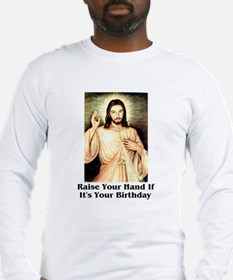 Funny Jesus Long Sleeve T-Shirt