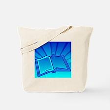 Glowing Book! Tote Bag