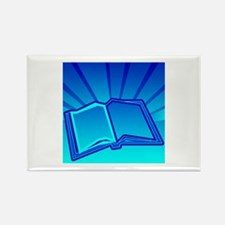 Glowing Book! Rectangle Magnet