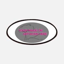 Your Image Here Oval Patch
