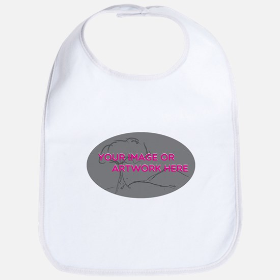 Your Image Here Oval Bib