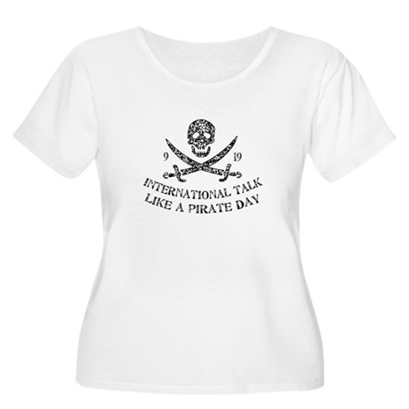 Talk Like a Pirate Women's Plus Size Scoop Neck T-