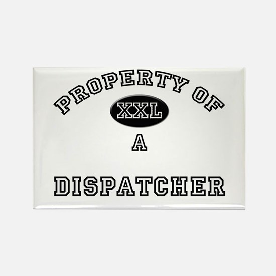 Property of a Dispatcher Rectangle Magnet