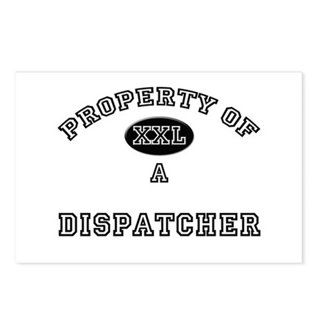 Property of a Dispatcher Postcards (Package of 8)