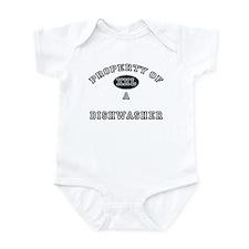 Property of a Dishwasher Infant Bodysuit